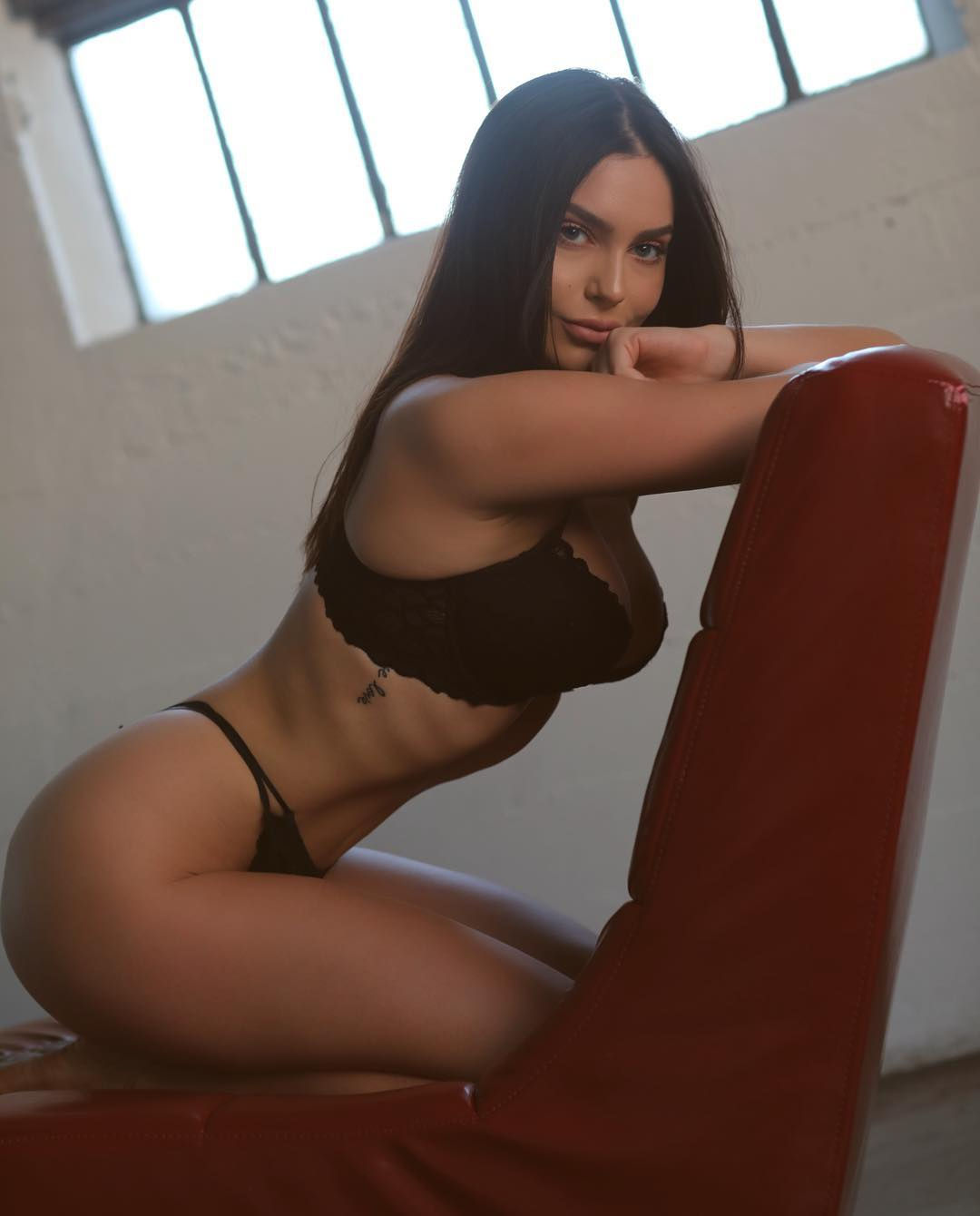 Emily Cybak is a model that appeared in Tyga Floss In The Bank