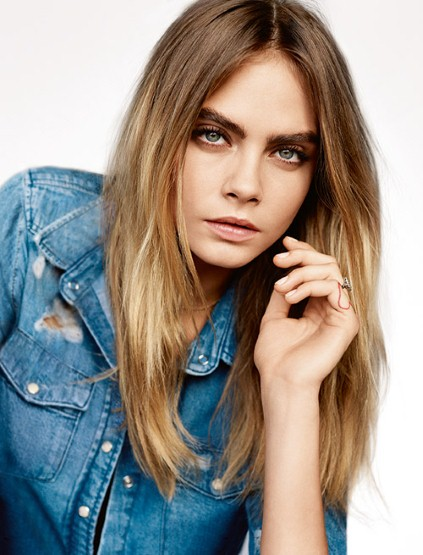 Cara Delevingne is a model that appeared in Halsey Nightmare