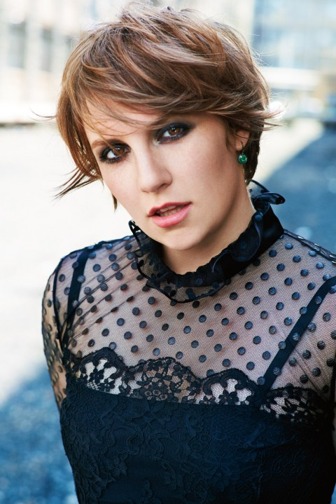 Lena Dunham is a model that appeared in Taylor Swift Bad Blood