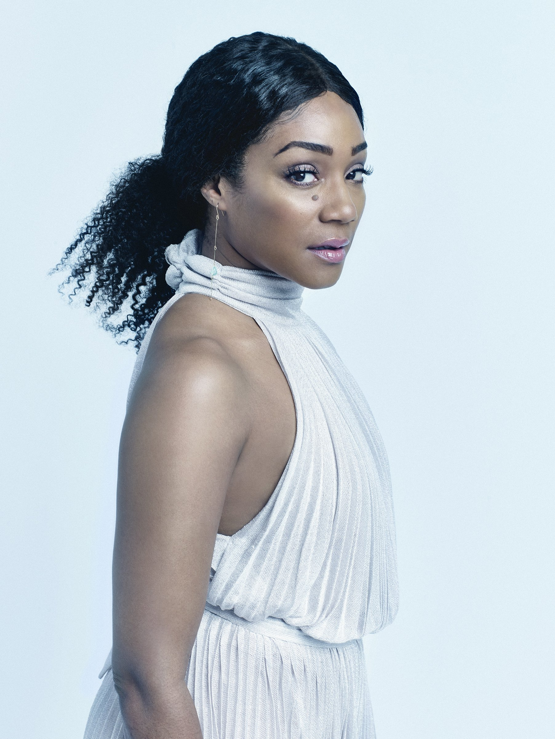 Tiffany Haddish is a model that appeared in Drake Nice For What