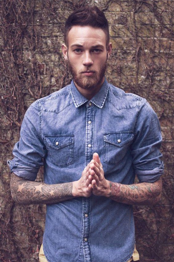 Model Billy Huxley