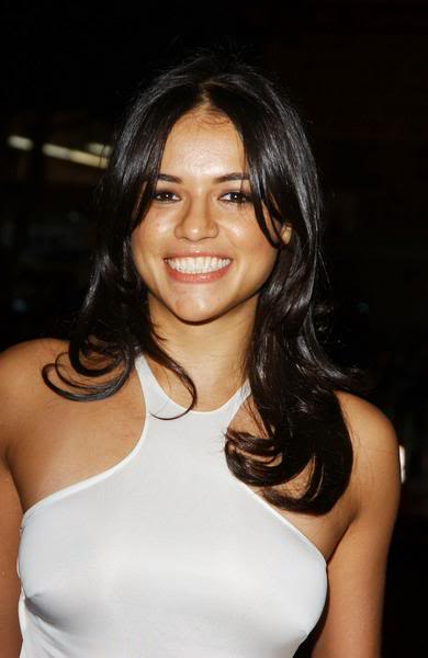 Michelle Rodriguez is a model that appeared in Drake Nice For What