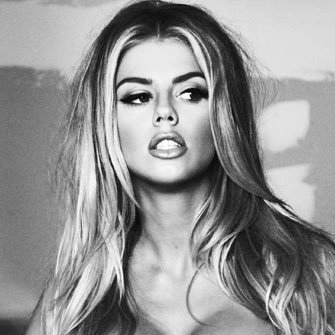 Charlotte Mckinney is a model that appeared in Dnce Body Moves
