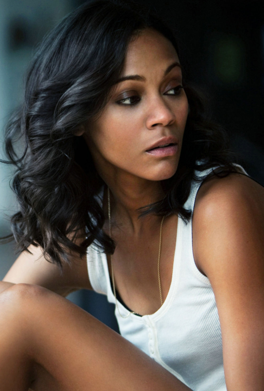 Zoe Saldana is a model that appeared in Drake Nice For What