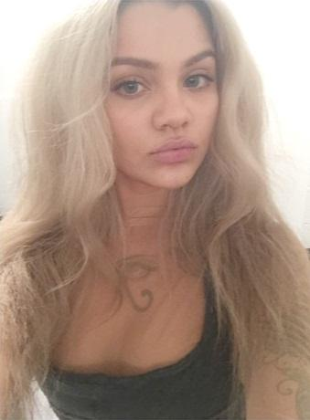 Amina Blue is a model that appeared in Bobby Shmurda Bobby Bitch