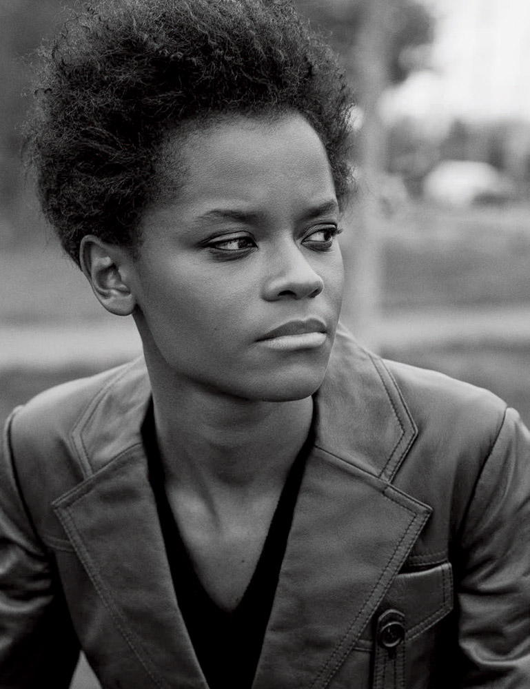 Letitia Wright is a model that appeared in Drake Nice For What