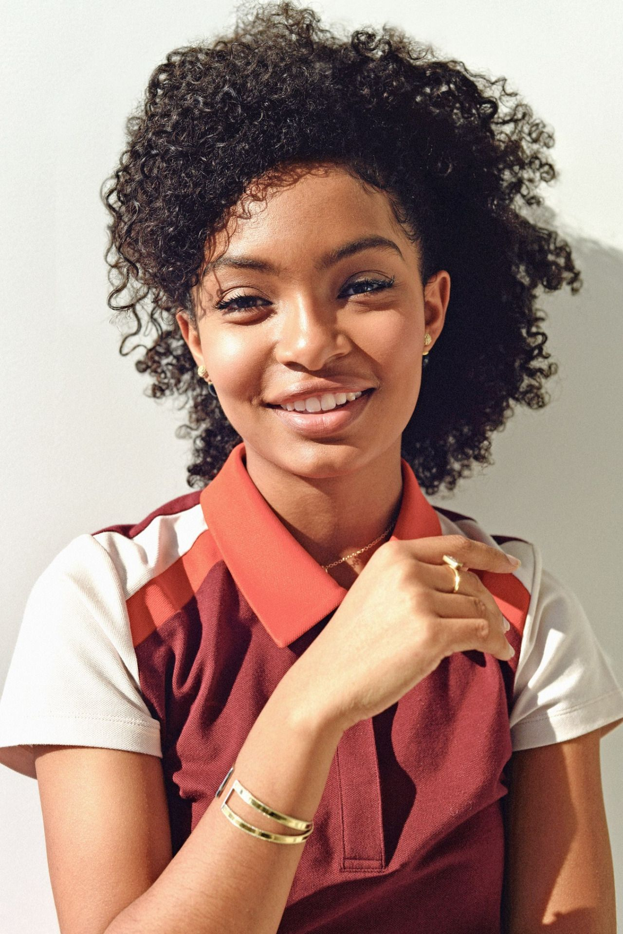 Yara Shahidi is a model that appeared in Drake Nice For What