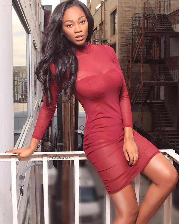 Amber Diamond Erby is a model that appeared in Wale My PYT