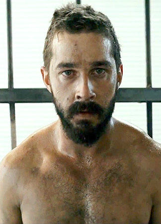 Shia LaBeouf is a model that appeared in Sia Elastic Heart