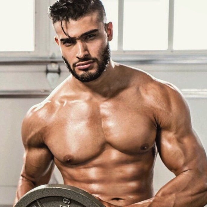 Sam Asghari is a model that appeared in Britney Spears ft Tinashe Slumber Party